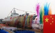 Trung Quốc hạ thủy thêm hai tàu khu trục hạng nặng