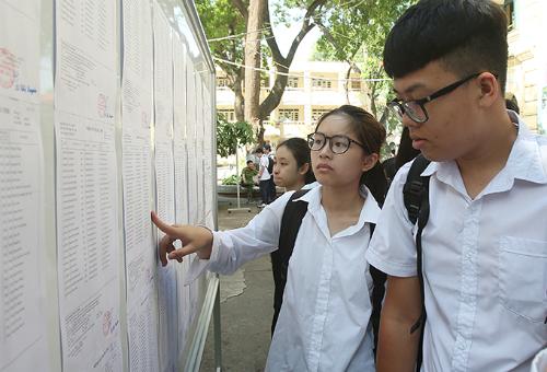 Thí sinh dự thi vào lớp 10 ở Hà Nội. Ảnh: Ngọc Thành