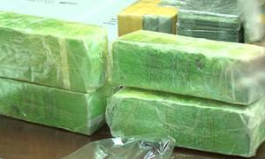 Nghệ An bắt giữ hai người vận chuyển 19 bánh heroin