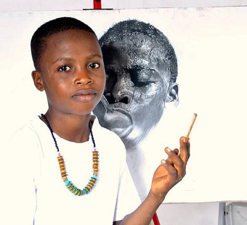 Cậu bé 11 tuổi trải qua cuộc sống thiếu thốn vật chất. Ảnh: Instagram