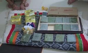 Công an Sơn La đột kích ngôi nhà 4 tầng thu giữ 16 bánh heroin