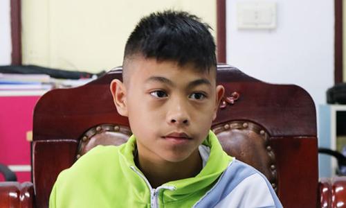 Thaweechai Nameng,một trong hai thành viên đội bóng không tham gia chuyến dã ngoại ở hang Tham Luang. Ảnh:Guardian