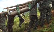 Vô hiệu hóa quả bom nặng 227 kg ở mặt trận Vị Xuyên xưa