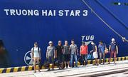 Tàu Trường Hải cứu 9 thuyền viên gặp nạn trên biển