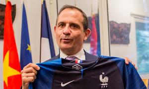 Tổng lãnh sự Pháp: 'Uruguay rất mạnh nhưng tôi tin Pháp sẽ vào top 3'
