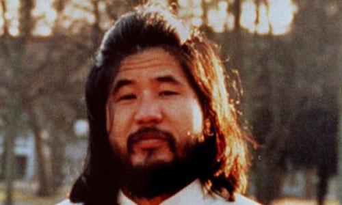 Shoko Asahara, trùm giáo pháiAUM Shinrikyo. Ảnh: Reuters.