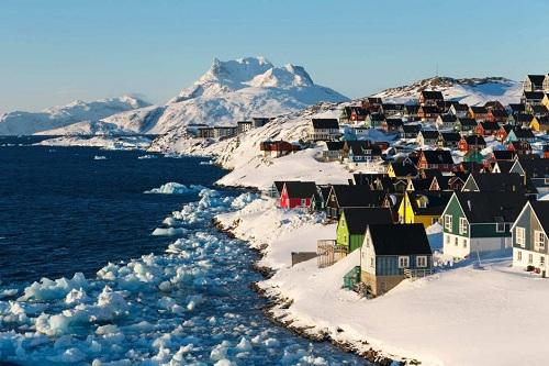 Đảo Greenland. Ảnh: ABC