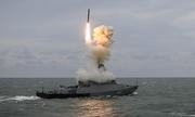 Tàu chiến Nga sắp diễn tập bắn tên lửa ngoài khơi Syria