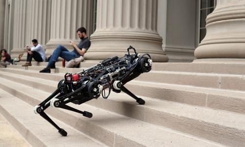 Robot 'mù' có thể tự tránh chướng ngại vật