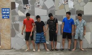 Nghệ An bắt 5 thanh niên lừa bán vàng giả liên tỉnh