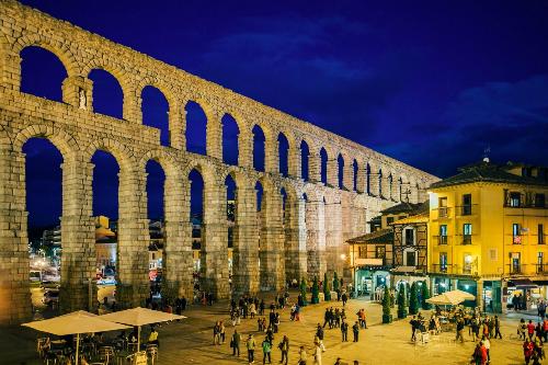 Thành phố Segovia. Ảnh: iStock