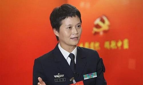 Bà Wei Huixiao. Ảnh: PLA Daily.