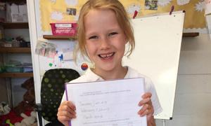Bà mẹ Anh sốc vì thông điệp trong bài tập của con gái