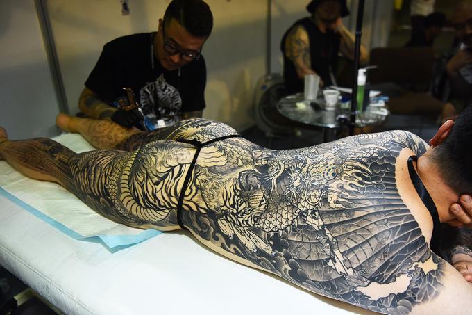 Nhiều hình xăm 'khủng' ở Vietnam Tattoo Expo