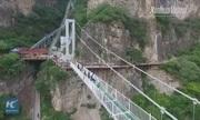 Trung Quốc mở cửa cầu kính 5D có thể chịu tải 6 tấn