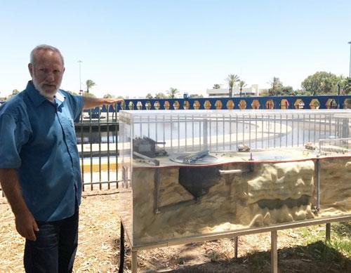 Israel hiện đứng đầu thế giới về xử lý nước thải, với tỷ lệ xử lý khoảng 80%. Ảnh: VA.
