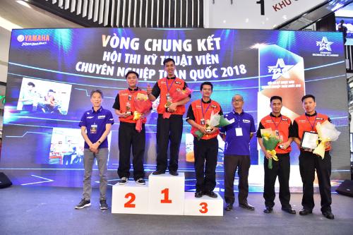 Kỹ thuật viên Đinh Khắc Quýsẽ cùng kỹ thuật viên Đặng Quang Vinh, người đã giành chiến thắng tại NTGP 2017 tham gia WTGP 2018 tại Nhật Bản.