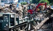 141 người chết trong mưa lũ lịch sử tại Nhật