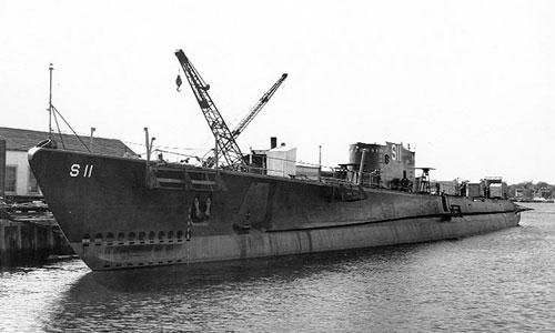 Tàu ngầm USS Squalus trước khi gặp nạn. Ảnh: Wikipedia.