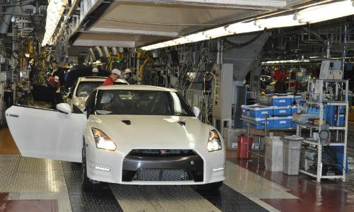 Sản xuất xe Nissan tại một nhà máy của hãng ở Nhật Bản. Ảnh: Carscoops.