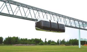 Tàu cao tốc trên không được giới thiệu giải quyết kẹt xe tại TP HCM