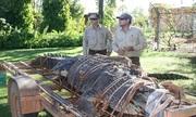 Cá sấu 6 tạ lọt lưới sau một thập kỷ lẩn trốn