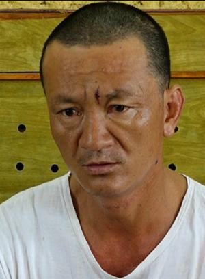 Uyên tại cơ quan điều tra. Ảnh: Ngô Quang Văn