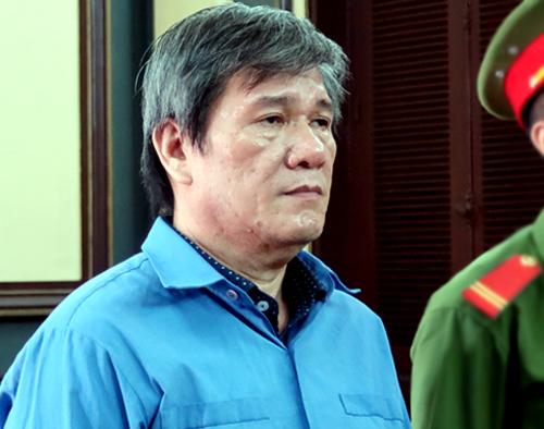 Dương Thanh Cường tại tòa hôm nay. Ảnh: Lan Ngọc.