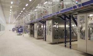 Nhà máy sản xuất sữa tươi không bóng người ở Bình Dương