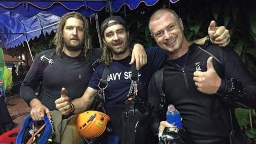 Từ trái sang, Erik Brown, Mikko Paasi và Claus Rasmussen. Ảnh: Facebook.