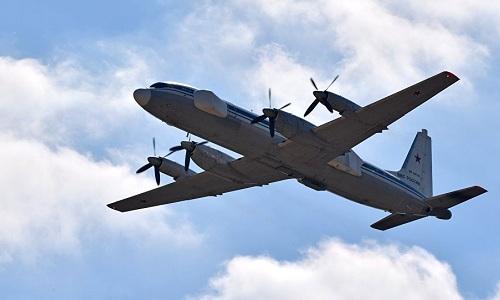 Một máy bay tác chiến điện tửIl-22PP Porubshchik của Nga. Ảnh: Sputnik.