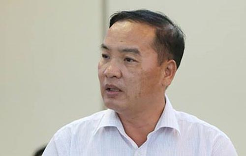 Ông Lê Nam Trà trước khi bị bắt.