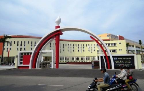 Trường THPT chuyên Trần Phú, Hải Phòng. Ảnh: Giang Chinh