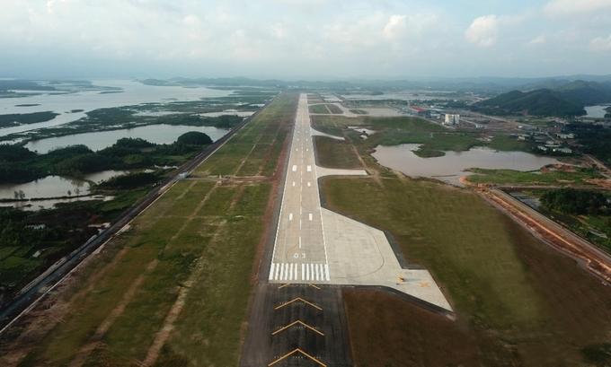 Cảng hàng không quốc tế Vân Đồn đón chuyến bay đầu tiên