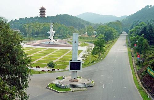 Uỷ ban Thường vụ Quốc hội đồng ý cho phép thành lập thị trấn Đồng Lộc (huyện Can Lộc, Hà Tĩnh). Ảnh: Báo Hà Tĩnh