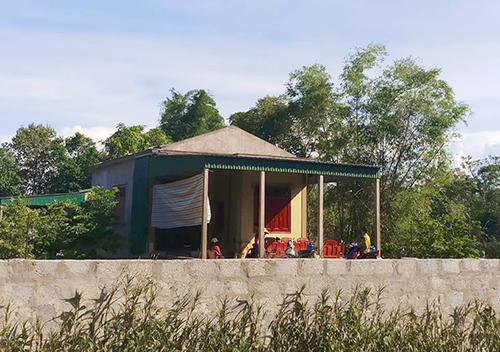 Ngôi nhà vừa xây của gia đình bà Đức. Ảnh: Đức Hùng