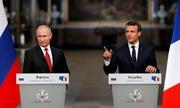 Tổng thống Pháp sẽ gặp Putin khi đến Nga xem chung kết World Cup