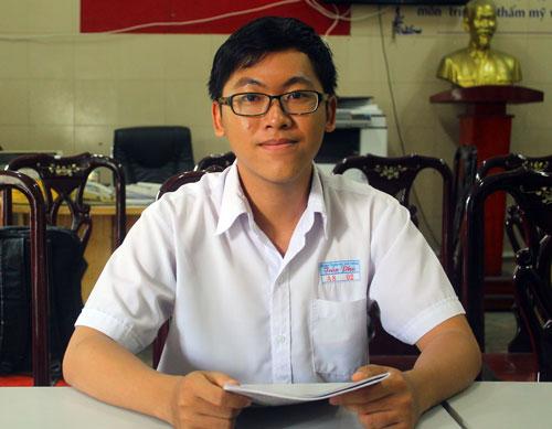 Nguyễn Trần Công Đạt. Ảnh: Lê Nam.