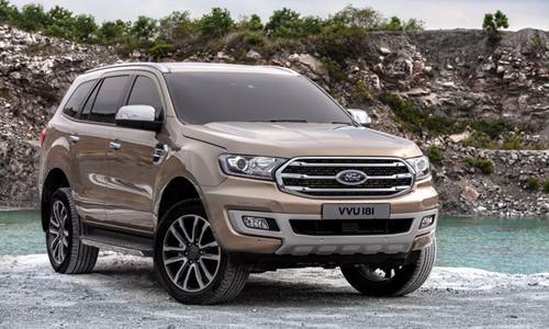 Ford giới thiệu Everest 2018 tại Thái Lan.
