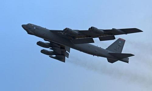 Một oanh tạc cơ B-52 của không quân Mỹ. Ảnh: US. Air Force.