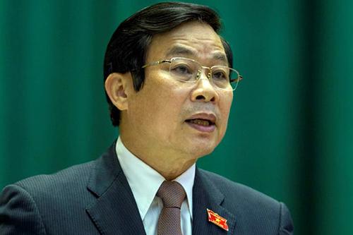 Nguyên Bộ trưởng Thông tin Truyền thông Nguyễn Bắc Son. Ảnh: QH