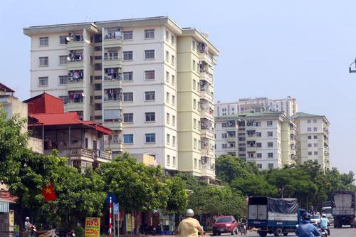 Hơn 10 toà chung cư trong khu đô thị Pháp Vân - Tứ Hiệp vi phạm phòng cháy, chữa cháy.Ảnh: Phương Sơn