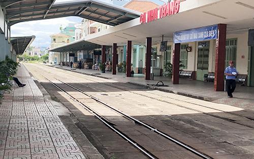 Ga Nha Trang nơi hai tàu suýt va chạm do
