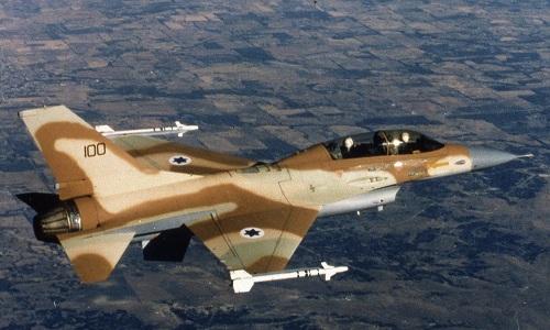 Một tiêm kích F-16 của Israel. Ảnh:Miltary.