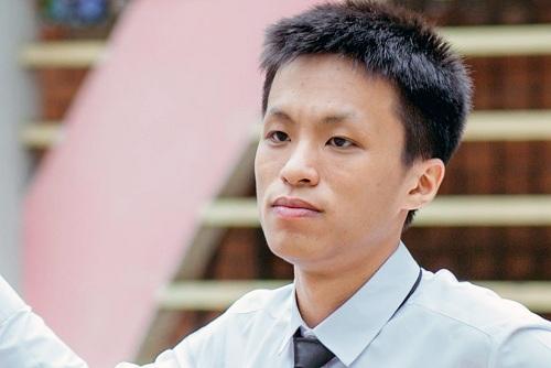 Vương Xuân Hoàng muốn theo học ngành Công nghệ Thông tin của Đại học Bách khoa Hà Nội. Ảnh: NVCC