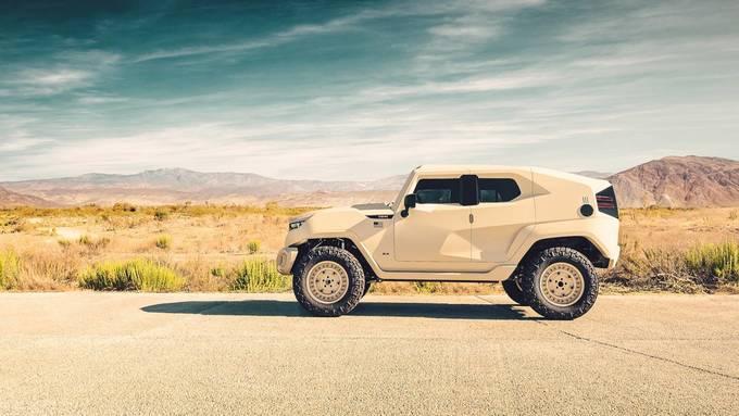 'Quái thú' chống đạn Rezvani Tank Military Edition giá 295.000 USD