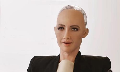 Sophia - công dân robot đầu tiên sắp đến Việt Nam