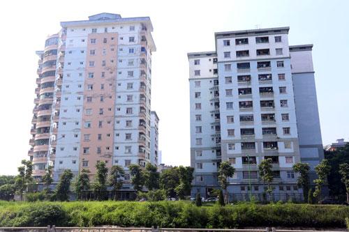 Một số toà của HUD tại khu đô thị Linh Đàm cũng bị chỉ ra là có vi phạm PCCC. Ảnh: Phương Sơn