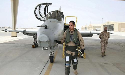 Công chúaBahrainSheikha Aisha bash Rashid Al Khalifa chuẩn bị thực hiện chuyến bay ngày 12/7. Ảnh: National.
