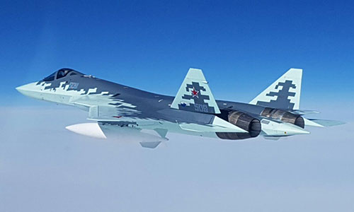 Tiêm kích tàng hình Su-57 của Nga. Ảnh: DefPost.